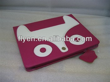 Hot sells Folio With Stand Magnetic fashion design of small hag Case For iPad 2/3/4,Smart Case For Ipad 2/3/4