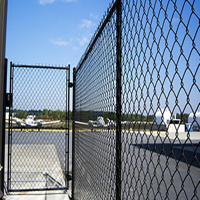 5x5 chain link fence gate panel/4x10 chain link fence gate panel
