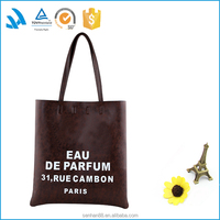 Hot selling top promotional pu leather industrial fabric handbag patterns free