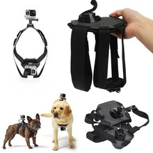 For Gopro Hero Harness for your dog! Go Pro Fetch Chest Dog Strap For Hero 4/3+/3/2/1 sj4000 SJ6000