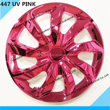 UV Paint Car Wheel Covers 13 14 15 INCH Plastic steering wheel cover ABS /PP Steering Wheel Covers for Universal car use