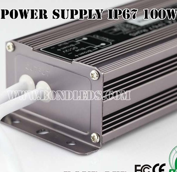 100w electronic led driver ip67 led outdoor waterproof switching power supply