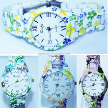 promotional wrist watch silicone/ custom silicone watches wholesale