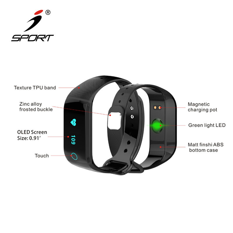 High Rank Classic Waterproof Smart Watch Fitness Tracker with Heart Rate Monitor