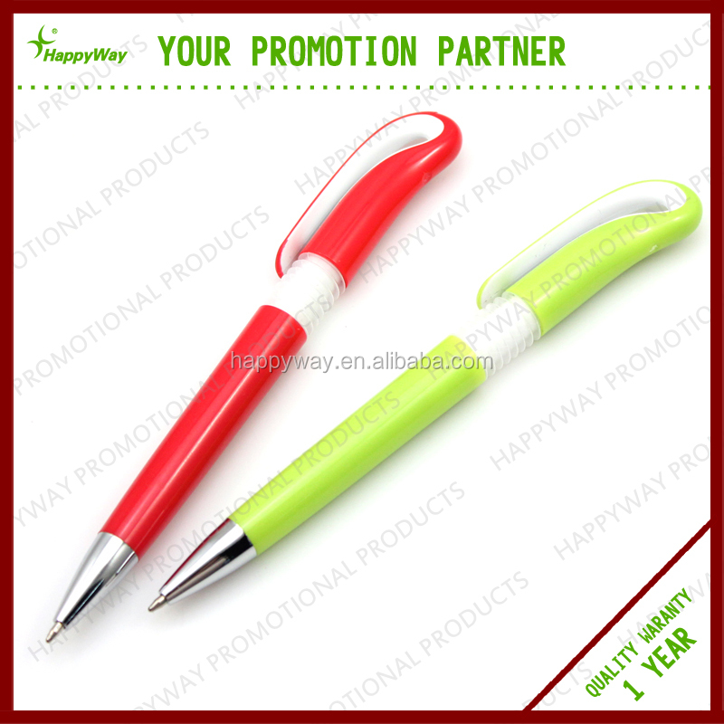 Exhibition Comfortable Ballpoint Pen , 0201049 MOQ 100PCS One Year Quality Warranty