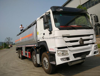 SINOTRUK HOWO 8x4 25CBM Fuel Oil Delivery Tanker Tank Truck