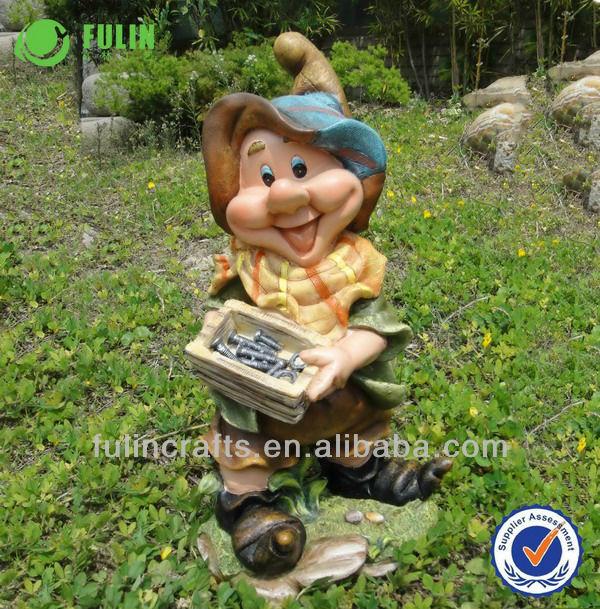 nain de jardin nain figurine en résine en plein air-Décor maison en ...