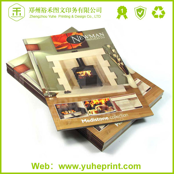 Coffe table great price wholesale small quantity digital printing staple binding case bound book printing service