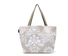 2017 Japan brand famous design flower pattern handbag, waterproof nylon lady handbag,shopping bag china supplier