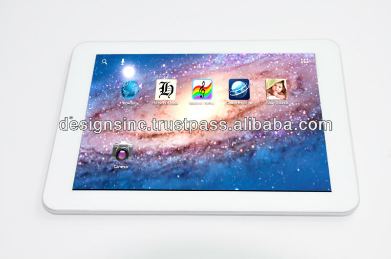 9.7 inch Android 4.0 hdmi tablet PC with 3Gwifi,Dual camera IPS screen
