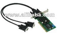 2-port RS-422/485 smart Universal PCI serial boards with 2 KV isolation protection