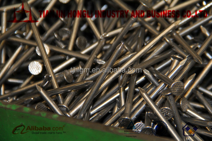 SMOOTH SHANK COMMON STEEL NAILS 16D