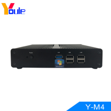 Mini Computer J1900 Quad core windows10 PC USB3.0 Fanless Desktop Barebone VGA
