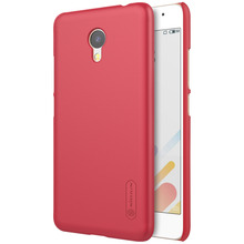 NILLKIN Super Frosted Shield PC Hard Phone Case for Meizu A5 with Screen Guard Film