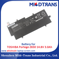 Rechargeable notebook battery for TOSHIBA Portege Z830 14.8V 3.0Ah