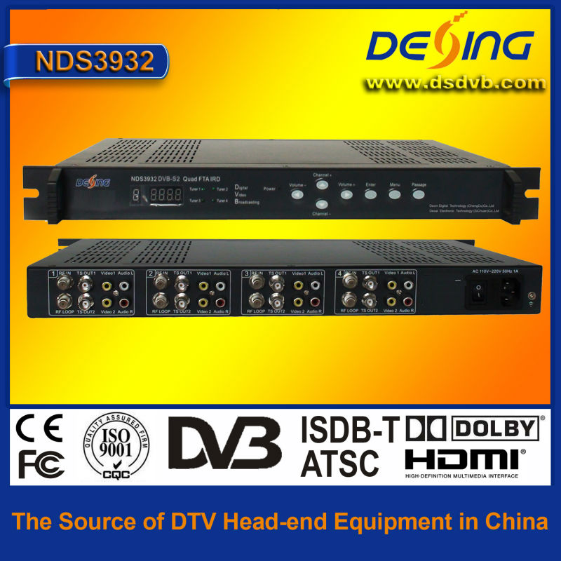 fta digital satellite receiver