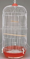 colorful portable round foldable wire bird breeding cage