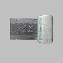 Factory high quality plastic flat food bag on roll for packaging