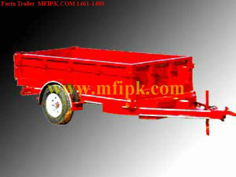 Farm non-tipping Trailer