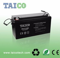 China Supplier Portable Solar System Solar Battery 12 Volt AGM Lead Acid Battery Batteries for Sale