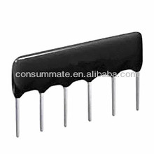 1000PF Thick Film Network Capacitor with 4 Pins,and 2.54mm Pin distance