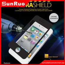 Factory Price Anti Shock screen protective film 9H tempered glass screen protector for IPhone 4 4s 5 Ultra protective