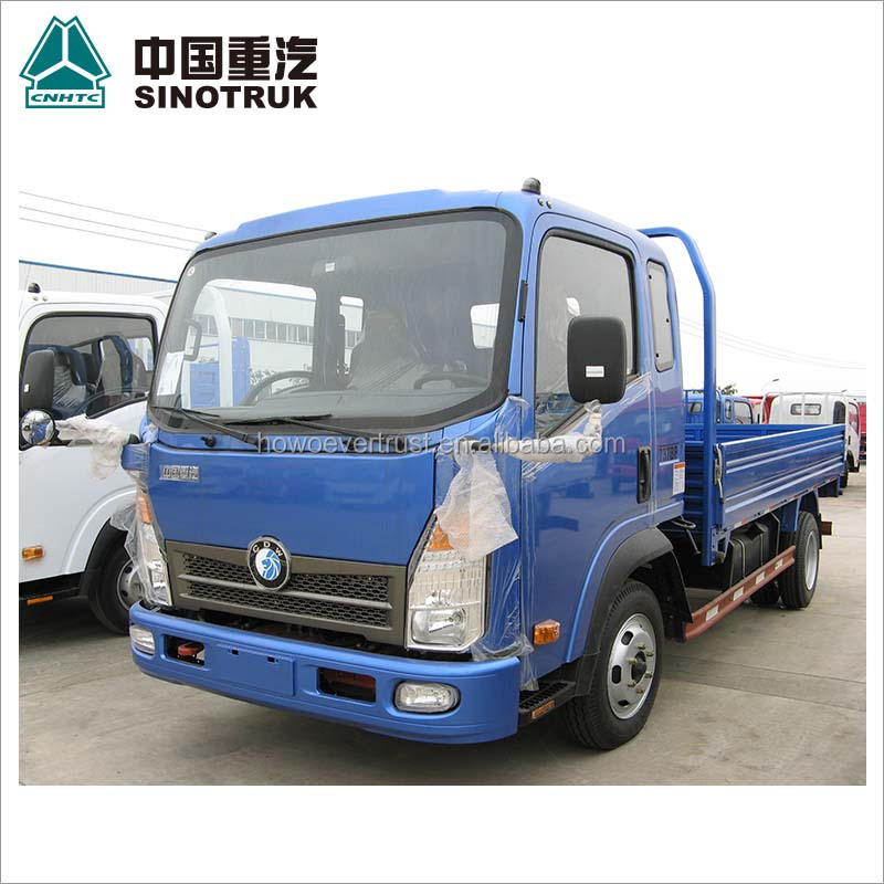 low price high quality SINOTRUK HOWO SINOTRUCK 3 ton mini cargo truck 4x2 for sale
