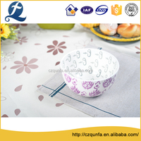 Wholesale microwave safe colorful galzed ceramic bowl