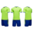 Thai Soccer Jersey Blue Wear Soccer Shirt With Pant 2018