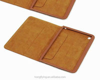 Wholesale genuine leather framed case for ipad mini factory price