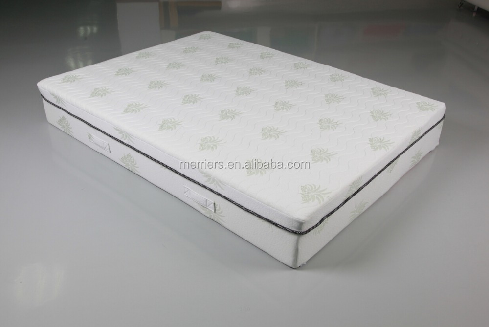 Aloe vera memory foam mattress/memory foam mattress with aloe vera fabric cover - Jozy Mattress | Jozy.net