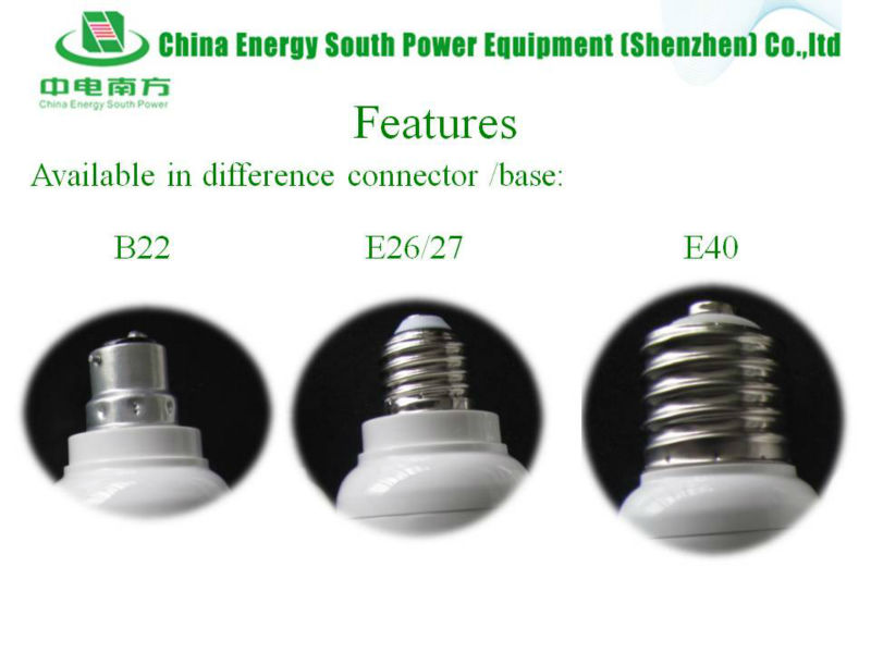 B22 to E27 for use in SOX lamps
