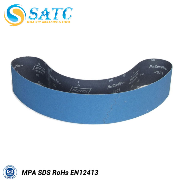 Abrasive Grain Sizes and Sanding woods,metals,stone,leather&rubber Usage Sanding Belt