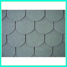 Vintage green color laminated asphalt shingles with America/Canada standard quality