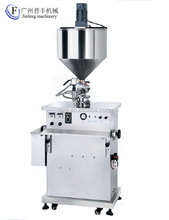 Guangzhou Jinfeng Vertical type constant temperature liquid wax filling machine with mixer and hopper