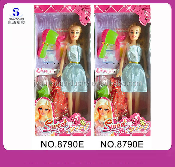 2015 Cheapest Barbiee Doll for Girls with Accessories and Beautiful Dress