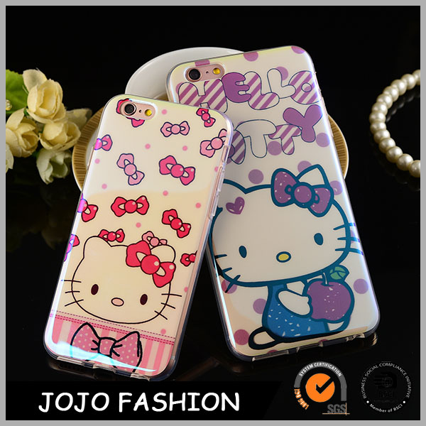 Hot Sale Lovely Hello Kitty Shape Phone Case