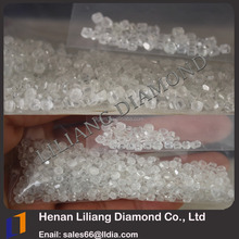 HPHT & CVD Big size synthetic diamond stone Colorless D,E, VS uncut rough white diamond one carat price for sale