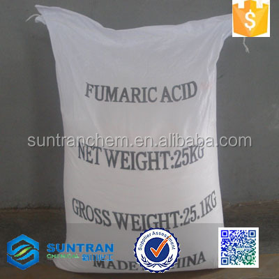 Suntran chemical food grade/pharmaceutical grade fumaric acid in bulk