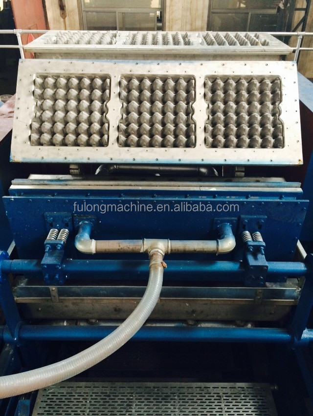 China Supplier 6000psc egg tray machine