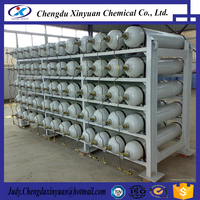Steamless steel CNG composite cylinder