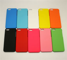 Rubber paint cover for iphone 5c phone case