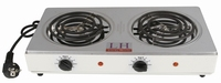 fold design two burner cooking plate TM-HD10
