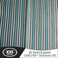2015 high quality latest design contracted fashion stripe hotel sheer curtain