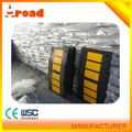 Groove stripe durable road rubber speed bump