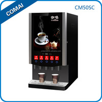 LED display hot and cold nescafe necta vending coffee machine