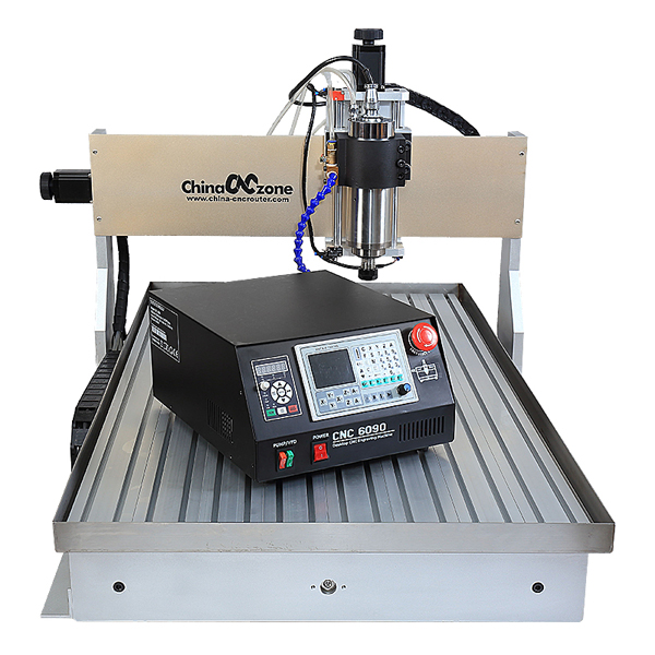 2200W Spindle DSP cnc metal router 6090 Aluminium Cutting engraving