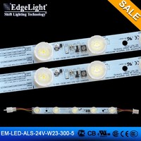 super bright 300mm length aluminum LED bar light for backlight and side light source decoration