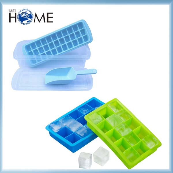 Fancy Personalized Custom Silicone Ice Cube Tray Maker Mold for Cocktail