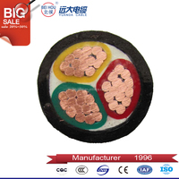Reliable low voltage XLPE copper SWA armoured power cable 240mm